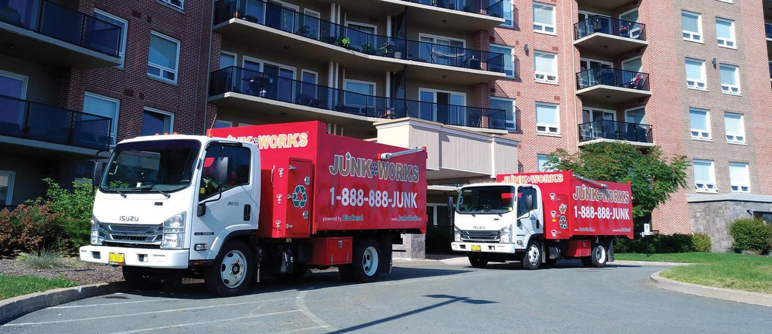 Junk Removal Apartments Trucks