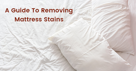 A Guide To Removing Mattress Stains