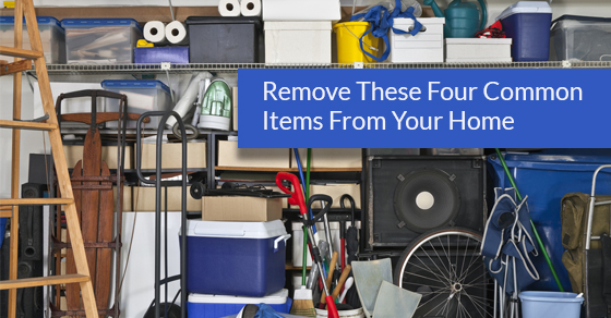 Remove These Four Common Items From Your Home