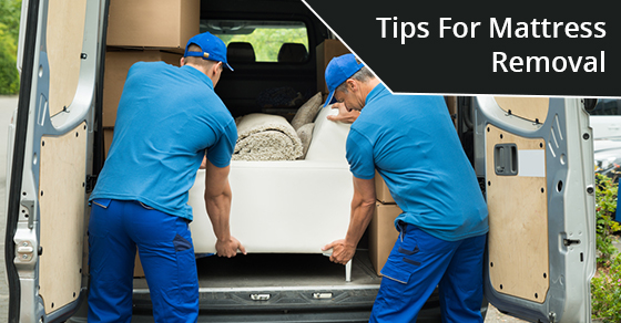 Tips For Mattress Removal
