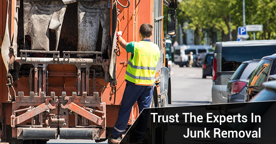 Trust The Experts In Junk Removal