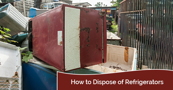 How to dispose of refrigerators
