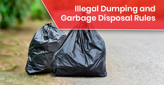 Illegal Dumping and Garbage Disposal Rules