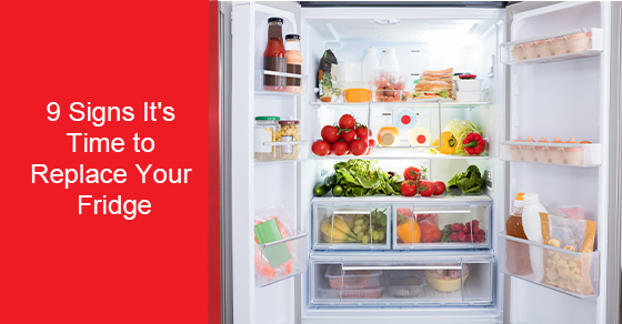Signs that your fridge needs to be replaced