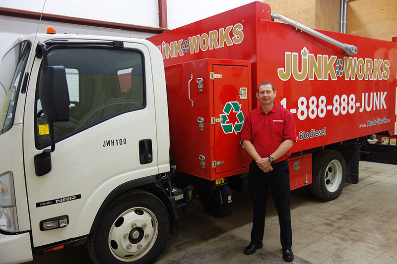 Junk King Franchise Owner, Chris and Sherry Willison.