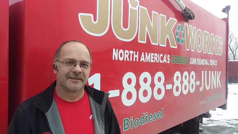 Junk King Franchise Owner,  Doug and Karen Biersteker.